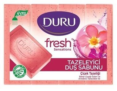 Duru Duru Duş Sabunu Fresh Çiçek Tazeliği 4 Lü 600 Gr Renksiz